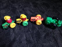 4 vintage Fisher Price tractors in Spring, Texas