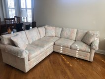 Crate and Barrel: 2-piece sectional in Naperville, Illinois