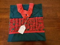 New Quilted Green and Red Art Bag w/Box of Colored Pencils #30 in Warner Robins, Georgia