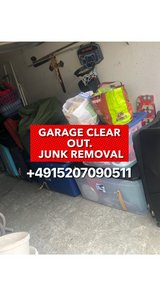 PCS GARAGE CLEAR OUT, TRASH REMOVAL, JUNK HAUL, PRESSURE WASH in Baumholder, GE