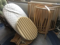 STOKKE Baby/Toddler Bed and Linens in Wiesbaden, GE