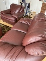 Leather couch set of two in Stuttgart, GE
