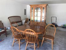 oak dining set in Tomball, Texas