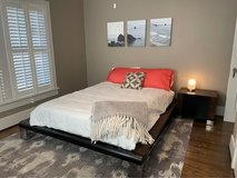 Bedroom Set from Woodland Creek Furniture made of reclaimed wood in Pasadena, Texas