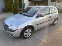 Opel Corsa only 67500 mls AC gas saver new inspection free delivery in Hohenfels, Germany