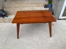 Handmade Mid-century Modern Solid Mahogany coffee table in Okinawa, Japan