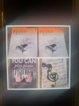 Lot of 4 Learn To Play piano books in 29 Palms, California