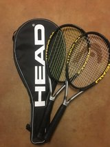 New Tennis rackets HEAD set of two TiSi Pro in Yucca Valley, California