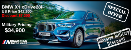 2021 BMW X1 xDrive28i - LIMITED TIME SPECIAL PROMO OFFER in Ansbach, Germany