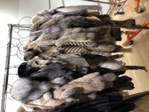 Fur pelts and pieces in Schaumburg, Illinois