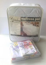 Full Size Sheets, Mattress Pad, and Pillow Cases for a FULL SIZE BED! in Beaufort, South Carolina