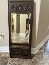Reduced to $50  Heavy vintage carved mirror in Spring, Texas