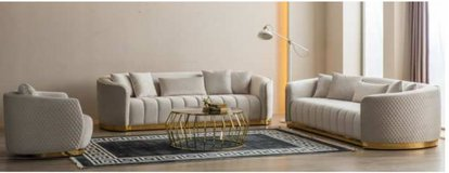 United Furniture - Golden LR Set includes 2 x Sofa + Chair and includes delivery in Fort Riley, Kansas