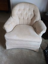 Lite cream Swivel Chairs Set of Two in Pearland, Texas