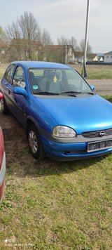 Nice 99 Opel Corsa Manual A/C Low Miles in Ramstein, Germany