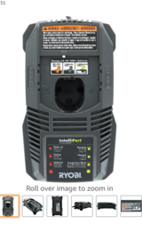 RYOBI Battery CHARGER Lithium Ion Dual Chemistry for One+ 18 Volt BATTERIES in Camp Pendleton, California