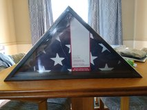 New Flag Display Case in Naperville, Illinois