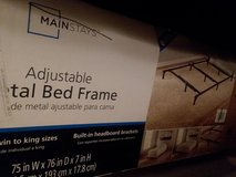 Mainstay Adjustable Bed Frame in Fort Campbell, Kentucky