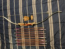 Bear Bullseye Youth Recurve Bow with Arrows in Fort Campbell, Kentucky