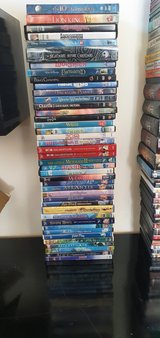 40 Disney/Children DVDs in Lakenheath, UK