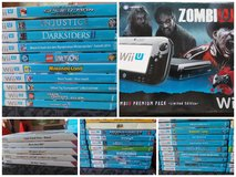 Wii u zombie u edition console with games in Ansbach, Germany