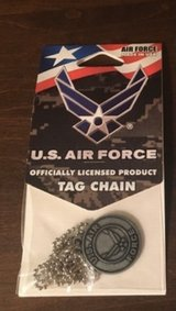 Air Force Tag Chain in Joliet, Illinois