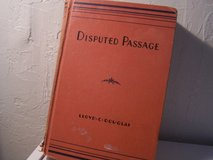 Disputed Passage Book 1939 in Alamogordo, New Mexico
