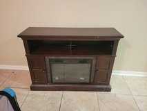 fireplace entertainment center with heater in Baytown, Texas