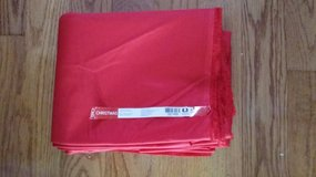 FABRIC - Red - 100% cotton in Plainfield, Illinois