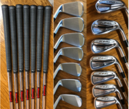 1 yr. old Cobra Forged Tour Irons 4-PW R Steel Shaft in Stuttgart, GE