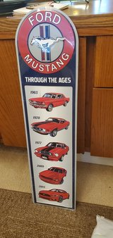 Ford MUSTANG SIGN NEW in Schaumburg, Illinois