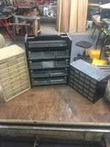 (3) Small Nut & Bolt Organizers in Pearland, Texas