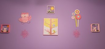 Girls room decor in Bellaire, Texas