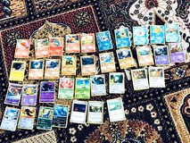 Son Selling Pokemon cards 36.  We have 2 of these sets so total 72 Price is for each set. in Stuttgart, GE