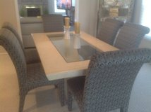 Merchandise Mart Dining room table/6 chairs in Naperville, Illinois