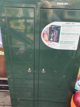 GUN CABINET WITH KEYS FOR SALE in Cleveland, Texas