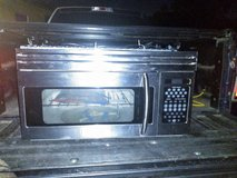 STAINLESS STEEL ABOVE STOVE MICROWAVE NEW in Kingwood, Texas