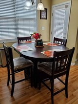 2 End Tables & 2 Lamps  and Dining Room Table with 4 high chairs in Fort Bragg, North Carolina