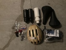 Bike accessories (helmet, seats, water bottles, reflectors in Lancaster, Pennsylvania
