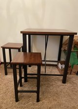 Pub Style Two Person Table with Stools in Rolla, Missouri