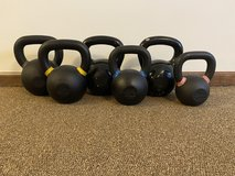 Kettle Bell Set - Various Weights in Rolla, Missouri