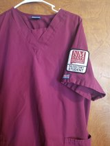 NMSU-Phlebotomy top and  bottom both size large in good condition in Alamogordo, New Mexico