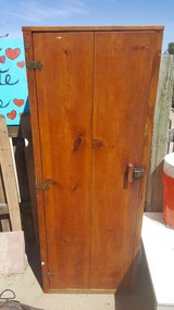 Antique Pantry Shelf Cabinet 5 feet tall in 29 Palms, California