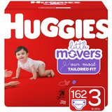 Huggies Little Movers Baby Diapers, Size 3 - 246 Diapers in Naperville, Illinois