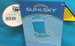 Beach Chairs with Canopy NEW WITH TAGS in Camp Pendleton, California