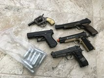 Multiple Airsoft lot with CO2 cartridges in Camp Pendleton, California