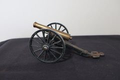 Vintage Michael Falk Co. MF CO Cast Iron Cannon C 1/6 Toy Or Display in Schaumburg, Illinois