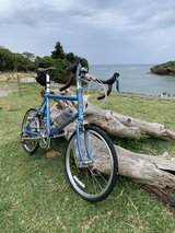 Dahon Dash Altena folding road bike in Okinawa, Japan