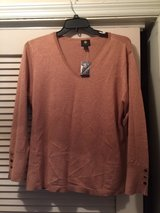 jm collection  vneck xxl new with tags intact in Naperville, Illinois
