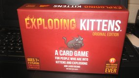 Exploding Kittens Card Game - Family-Friendly Party Games (T=48) in Fort Campbell, Kentucky